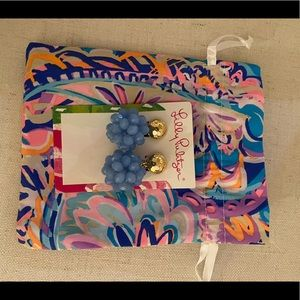 NWT Lilly Pulitzer Caliente Earrings